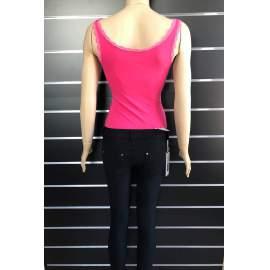 Victoria Moda női body - Pink