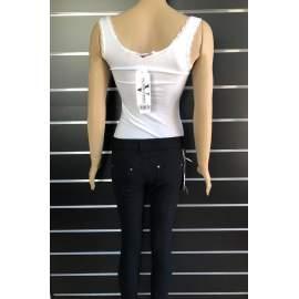 Victoria Moda női body - Fehér