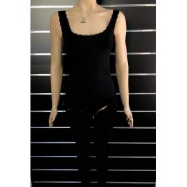 Victoria Moda női body - Fekete