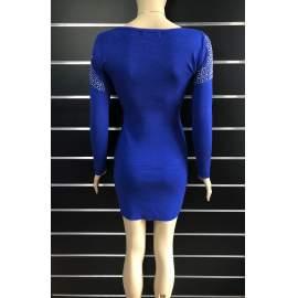 My77 női strasszköves miniruha