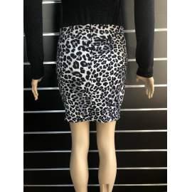 My77 női leopárdmintás szoknya