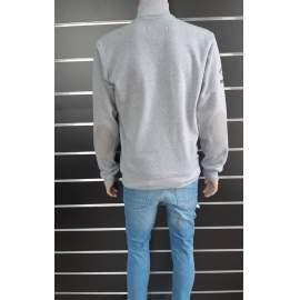 Ombre férfi szürke pulóver