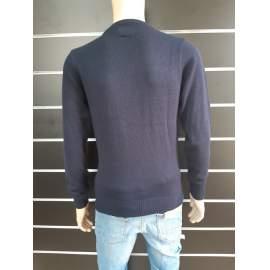 Alcott férfi kötött pulóver  - Sötétkék
