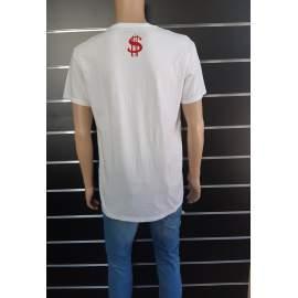 Pull&Bear férfi USA mintás póló