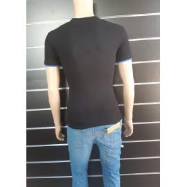 Japline férfi póló - Fekete