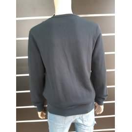 Pull&Bear férfi sötétkék pulóver