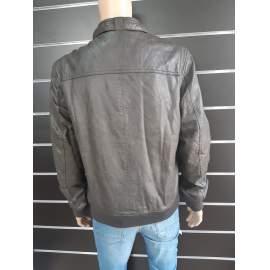Ombre férfi műbőr dzseki