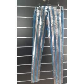 Bershka női csíkos nadrág
