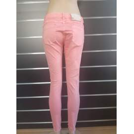 Naomi Fashion női rózsaszín farmer