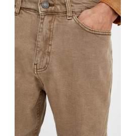 Pull & Bear férfi farmer térdnadrág - barna