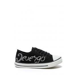 Devergo AMILLA LOGO női tornacipő - Fekete