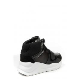 Devergo ULLA női magasszárú cipő - Fekete