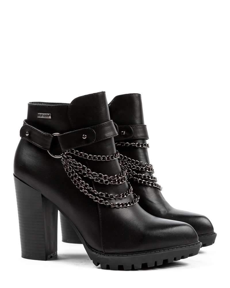 kiskereskedelmi árak kiadási dátum valódi cipő Devergo MARTHA CHAIN női magassarkú csizma | bokacsizma devergo ...