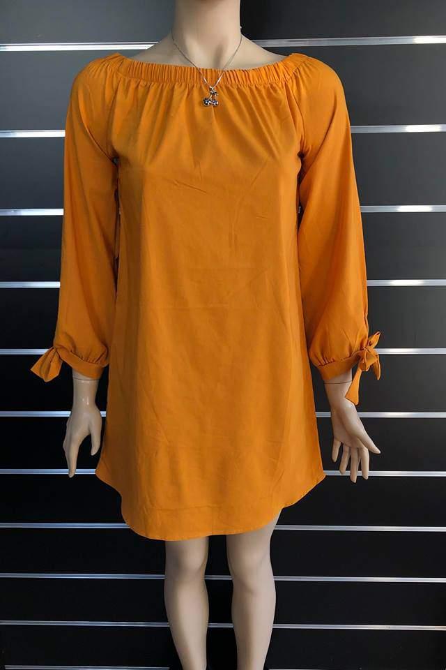 Victoria Moda női tunika - Mustársárga