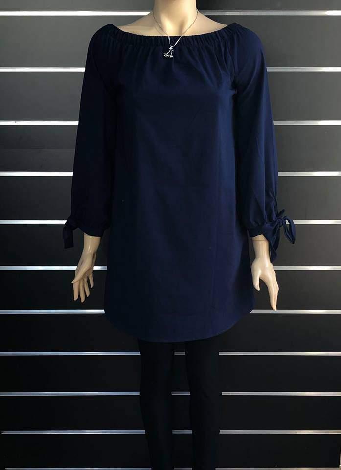 Victoria Moda női tunika - Sötétkék