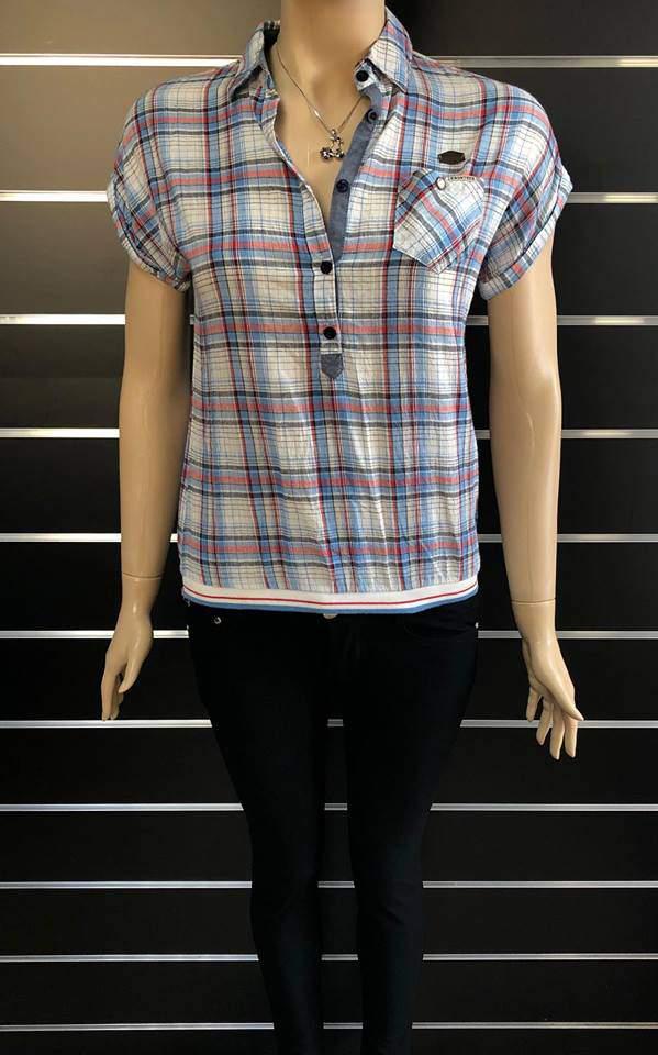 Pull&Bear női kockás ing