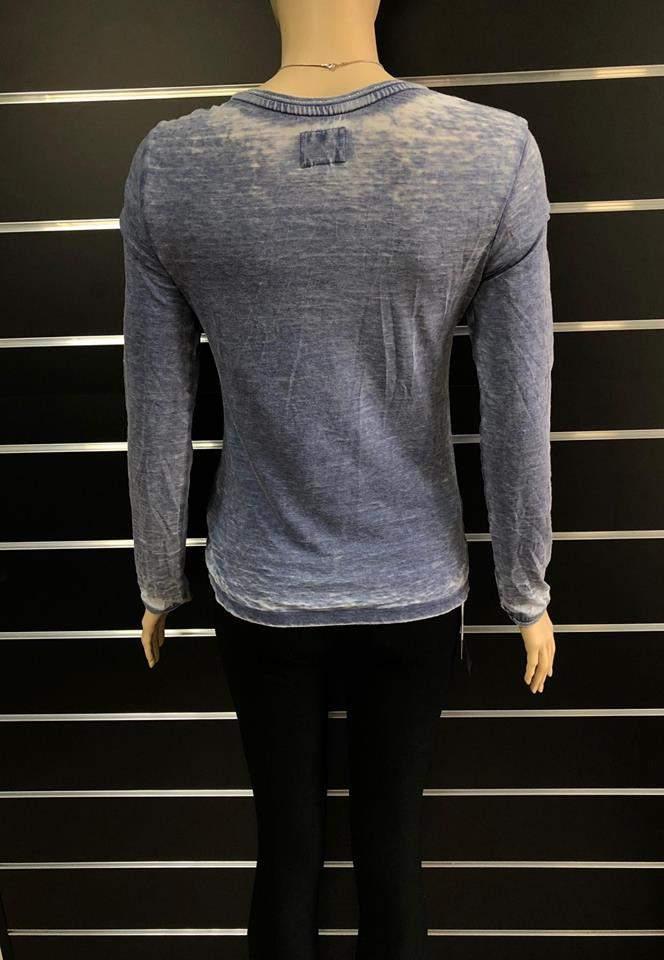 94ab847836 Retro Jeans női hosszúujjú felső | retro hosszúujjú jeans vékonyabb ...