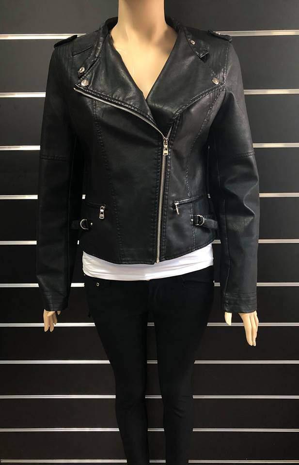 Naomi Fashion női műbőr dzseki