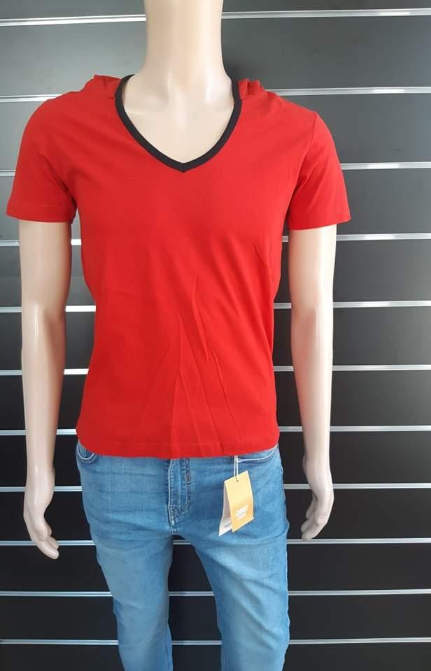 Japline férfi piros póló