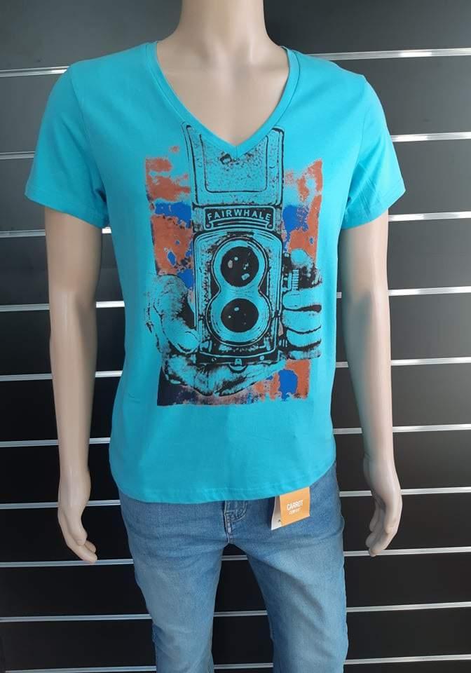 Superjoy férfi póló - Kék