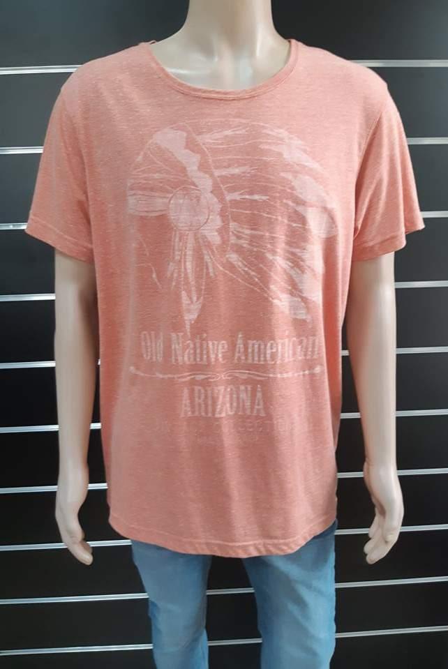 Urban Surface férfi póló - Narancs