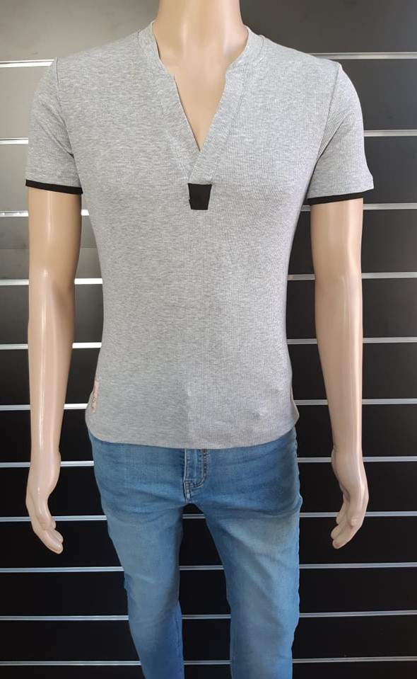 Japline férfi szürke póló