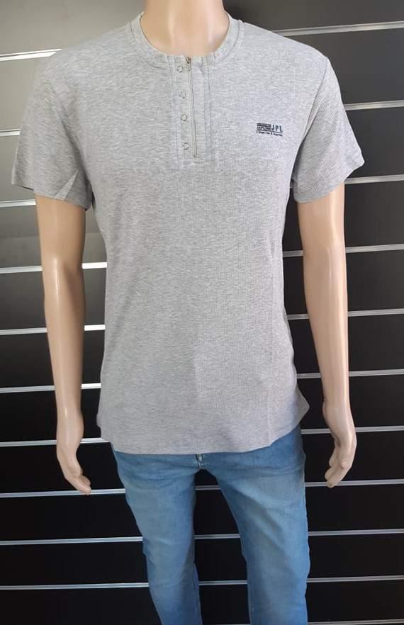 Japline férfi cipzáros póló
