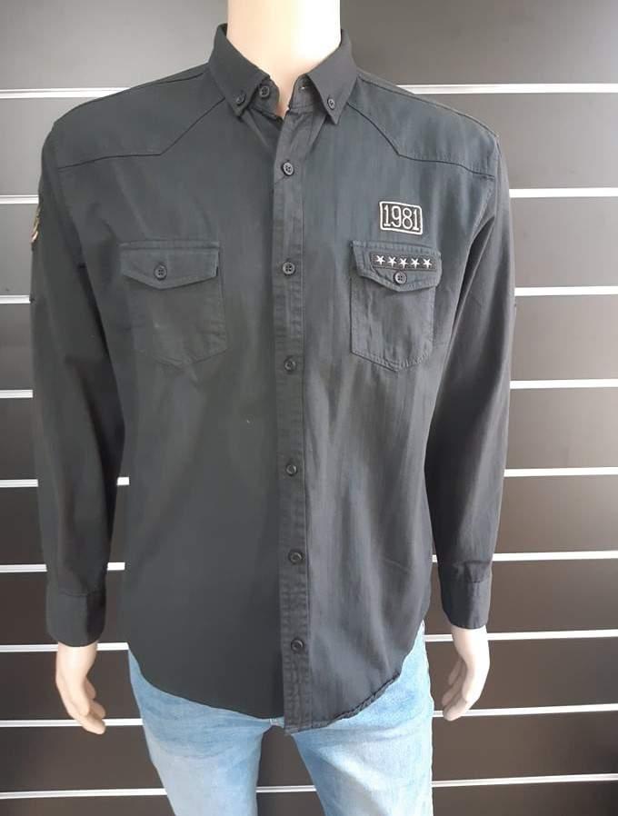 Ombre K306 hosszúujjú ing