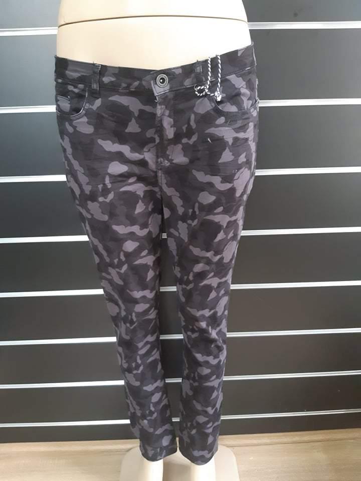 Retro Jeans női terepmintás nadrág