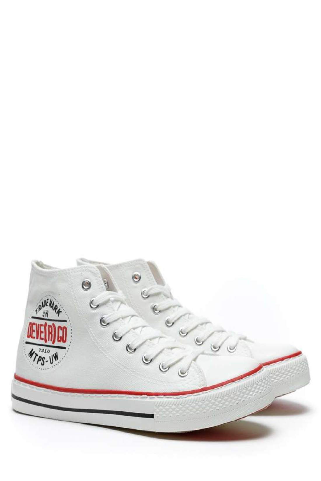 Devergo ALEX férfi magasszárú tornacipő - Fehér