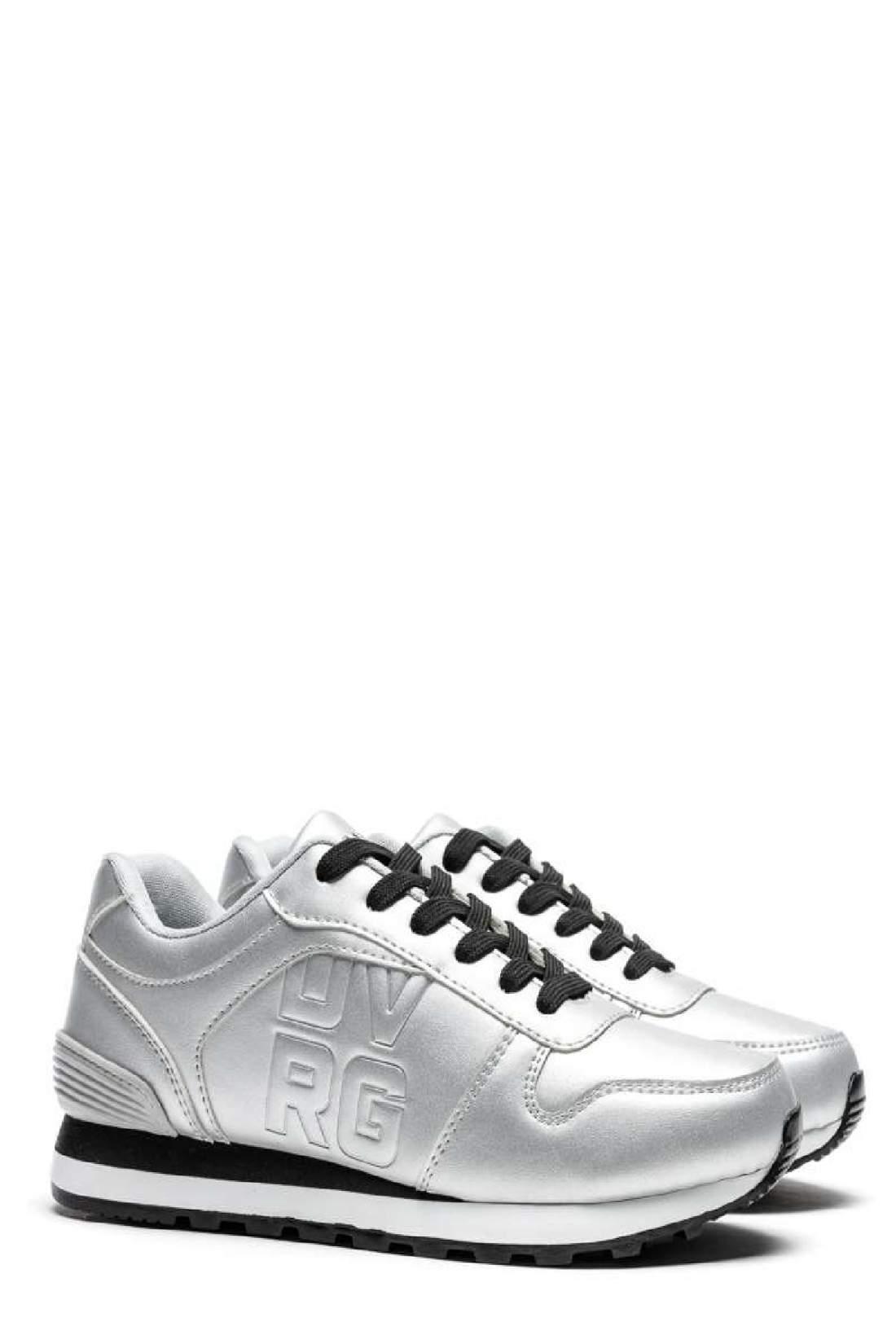 Devergo NIKA PU női sportcipő - Ezüst